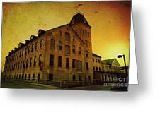 Historic Fox River Mills Greeting Card