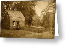 Historic Home - Allaire State Park Greeting Card