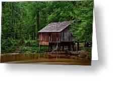 Historic Rikard's Mill - Alabama Greeting Card