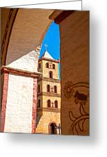 Historic Stone Bell Tower Greeting Card