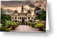 Ho Chi Minh City Hall Greeting Card