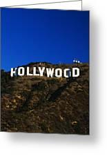 Hollywood Sign Los Angeles Ca Greeting Card