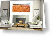 Hoodoos Of Bryce Canyon Greeting Card
