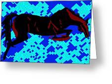 Horse-8 Greeting Card