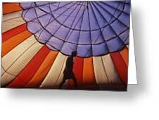 Hot Air Balloon - 11 Greeting Card by Randy Muir