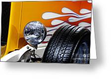 Hot Rod Ford Hi-boy Coupe 1932 Greeting Card