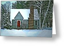 Howland House In Windsor Greeting Card
