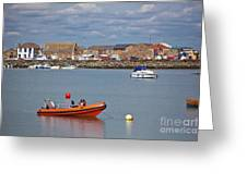 Howth Harbour Greeting Card