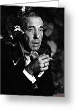 Humphrey Bogart Portrait #1 Circa 1954-2014 Greeting Card