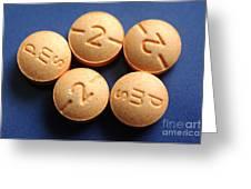 Hydromorphone 2 Mg Tablets Greeting Card