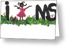 I Luv Ms  Greeting Card