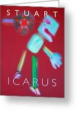Icarus Falling Greeting Card