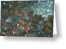 1. Ice Geometric, Glen Falloch Greeting Card