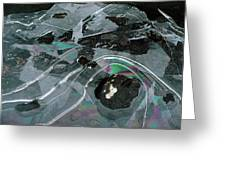 1. Ice Prismatics, Loch Tulla Greeting Card
