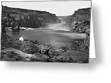 Idaho: Snake River Canyon Greeting Card