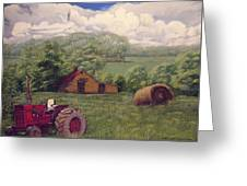 Idle In Godfrey Georgia Greeting Card