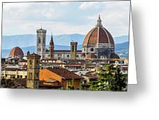 Il Duomo In Florence Greeting Card