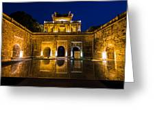 Imperial Citadel Of Hanoi Greeting Card