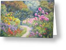 In Monets Footsteps Greeting Card