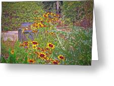 In The Garden Greeting Card