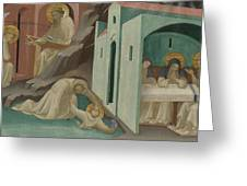 Incidents In The Life Of Saint Benedict Greeting Card