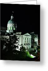 Indian State Capitol Greeting Card