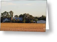 Indiana Farmland  Greeting Card