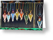 Indigenous Arts And Crafts Greeting Card