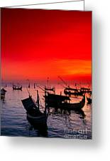 Indonesia, Bali Greeting Card