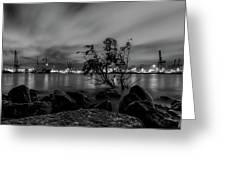 Industrial Hamburg Greeting Card
