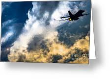 Israel Air Force F-16a Netz Greeting Card