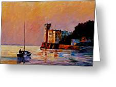Italy - Trieste Gulf Greeting Card