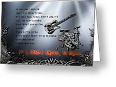 It's Only Rock 'n Roll Greeting Card