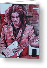 Jack White Greeting Card