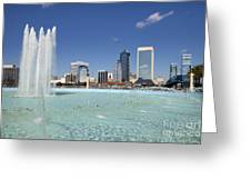 Jacksonville Florida  Greeting Card