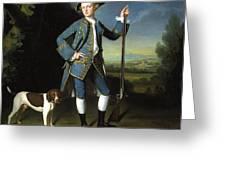 Jacob Morland Of Capplethwaite Greeting Card