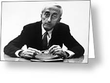Jacques Cousteau (1910-1997) Greeting Card