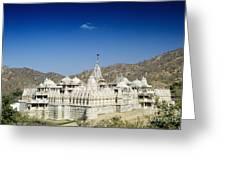 Jain Temple Of Ranakpur Greeting Card