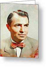 James Mason, Vintage Movie Star Greeting Card