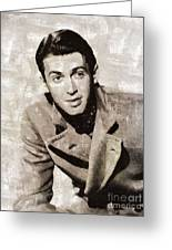James Stewart Hollywood Actor Greeting Card