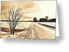 January Greeting Card