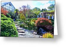 Japanese Garden 3 Greeting Card