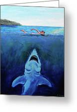 Jaws  Revisited Greeting Card