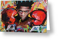 Jean Michel Basquiat Greeting Card