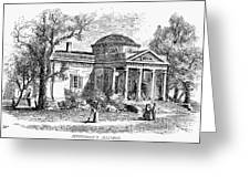 Jefferson: Monticello Greeting Card
