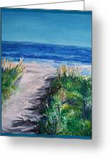 Jersey Shore Dunes Greeting Card