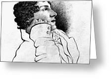 John Keats (1795-1821) Greeting Card