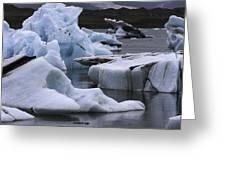 Jokulsarlon Glacier Lagoon Iceland 2431 Greeting Card