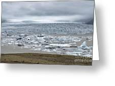 Jokulsarlon, Iceland Greeting Card