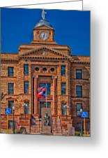 Jones County Courthouse Greeting Card
